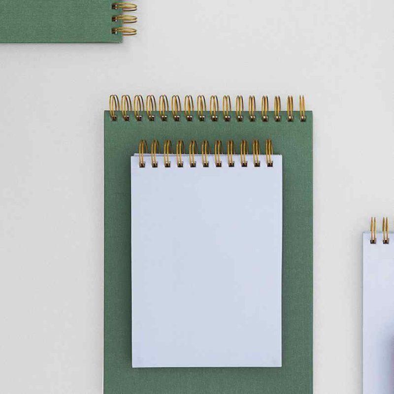 Notebook Gold Spine