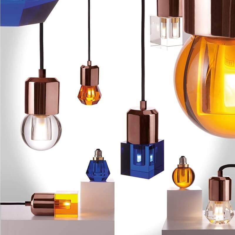 Dekorativna žarulja Crystaled