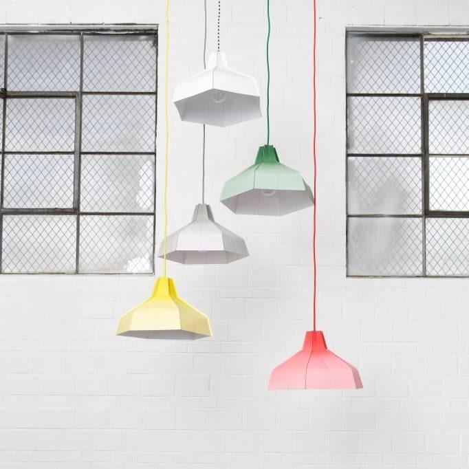 Svjetiljka Folded lampshade