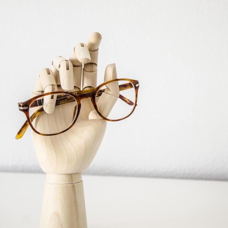Figura Wooden hand