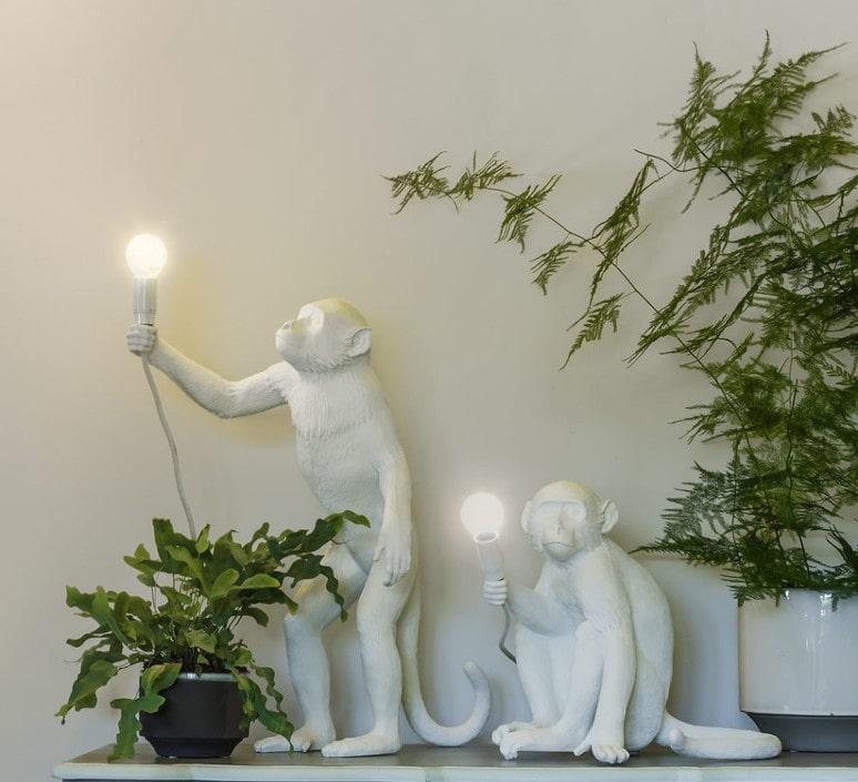 svjetiljka majmun