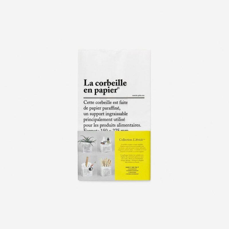 Papirnata vrećica La corbeille