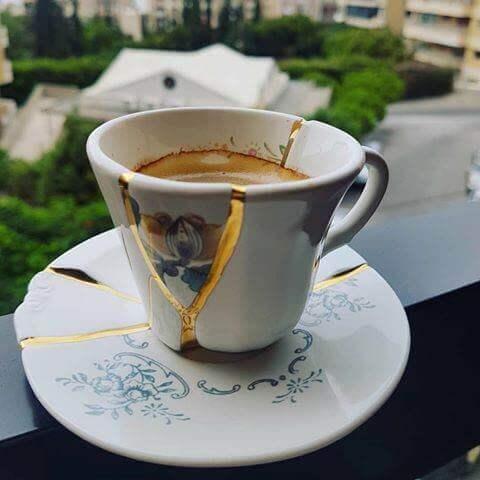 espresso set Kintsugi