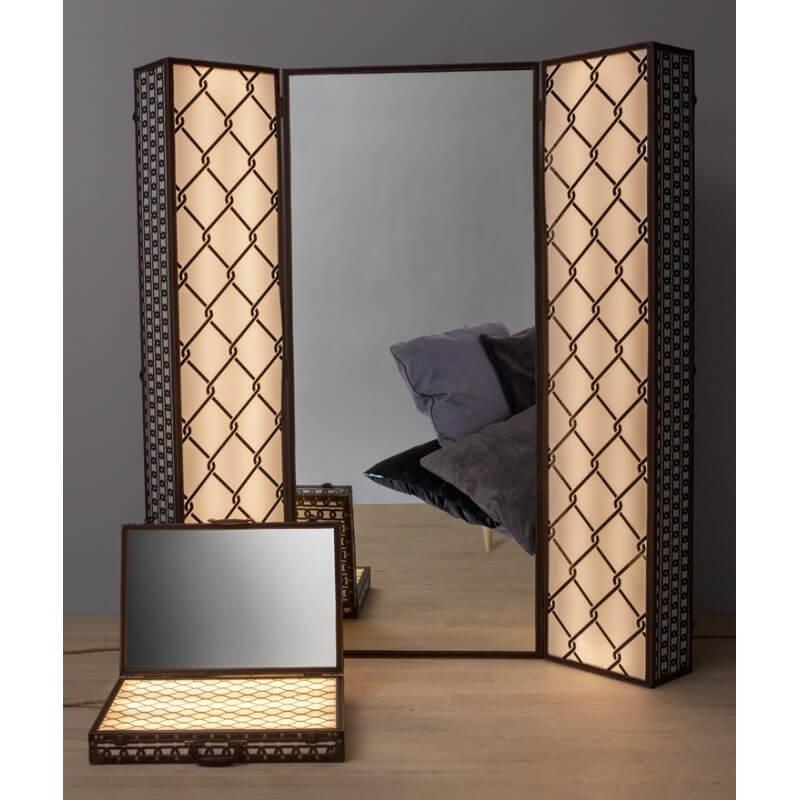 Lighting Trunk ogledalo