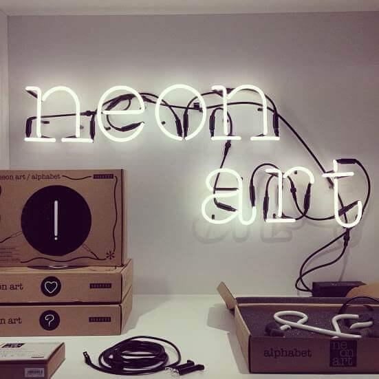 Neon art