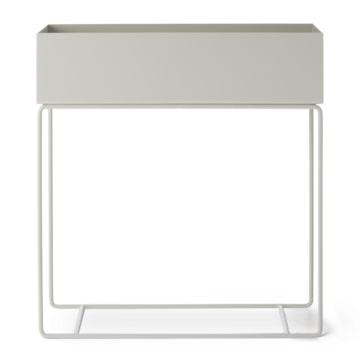 plant box light grey