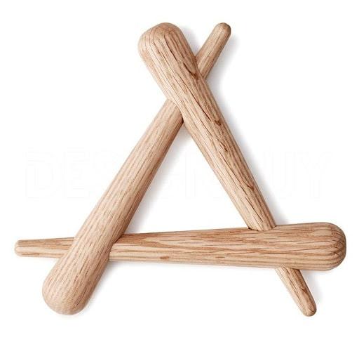 Sklopivi podložak timber trivet