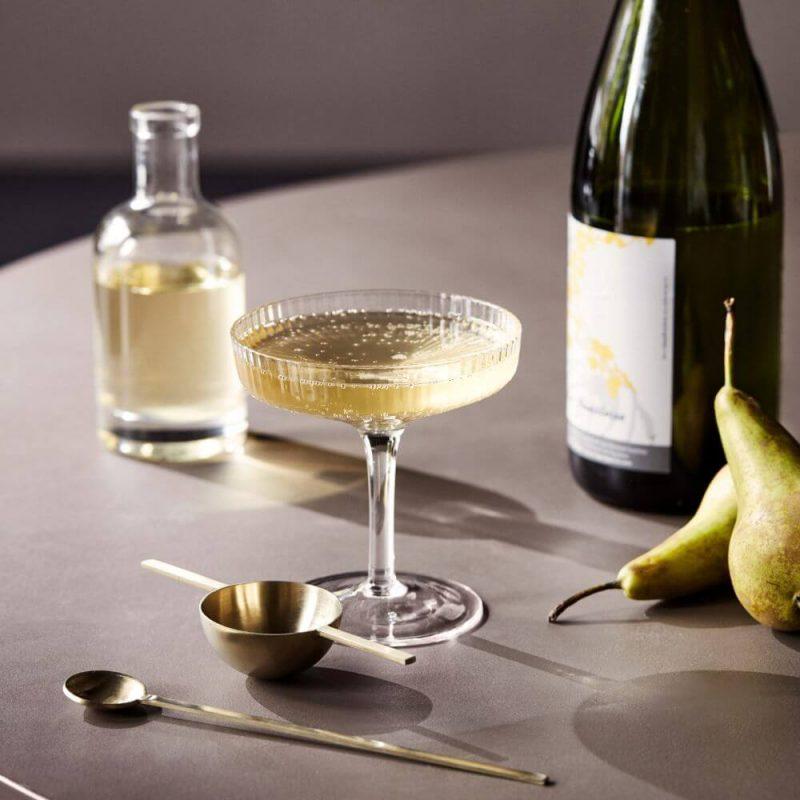 Čaše za šampanjac Ripple