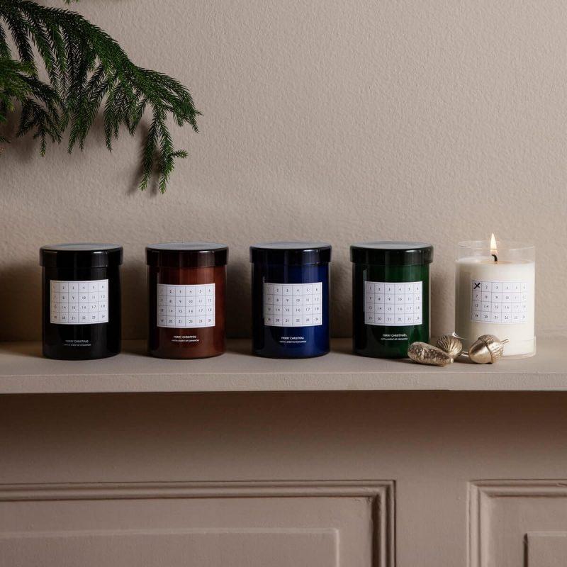 Adventska svijeća s kalendarom