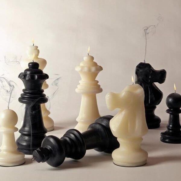 Šah mat svijeća