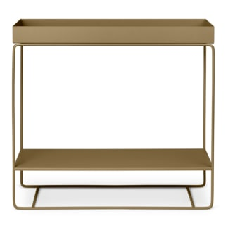 plant box two tier olive